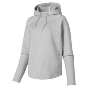 Thumbnail 4 of Evostripe Move Women's Hoodie, Light Gray Heather, medium