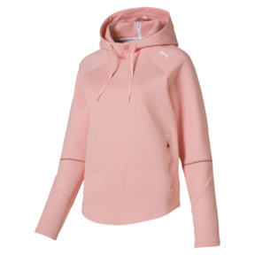 Thumbnail 4 of Evostripe Move Women's Hoodie, Peach Bud, medium