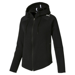Evostripe Move Zip-Up Women's Hoodie