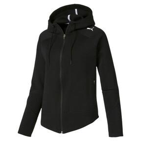 Evostripe Move hoodie met rits voor vrouwen