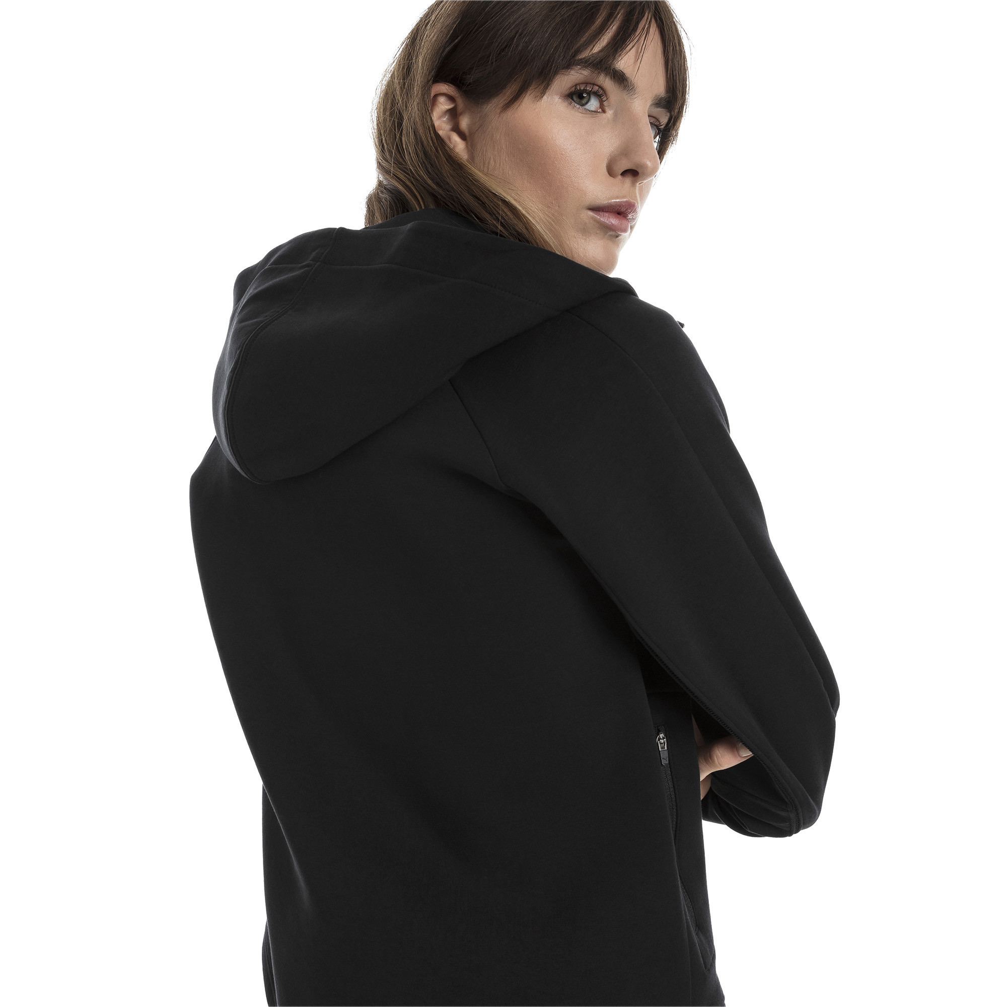 Image Puma Evostripe Move Zip-Up Women's Hoodie #2