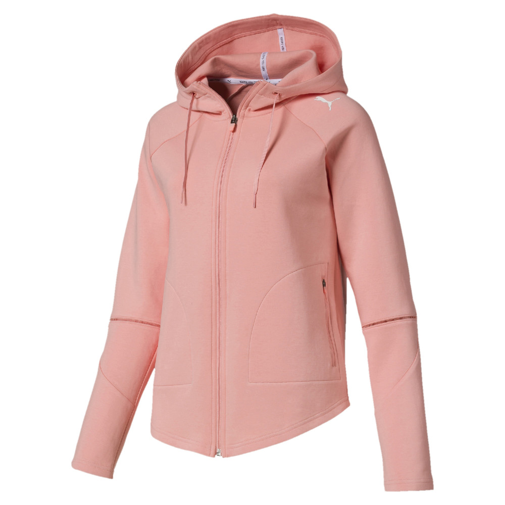 Image Puma Evostripe Move Zip-Up Women's Hoodie #1