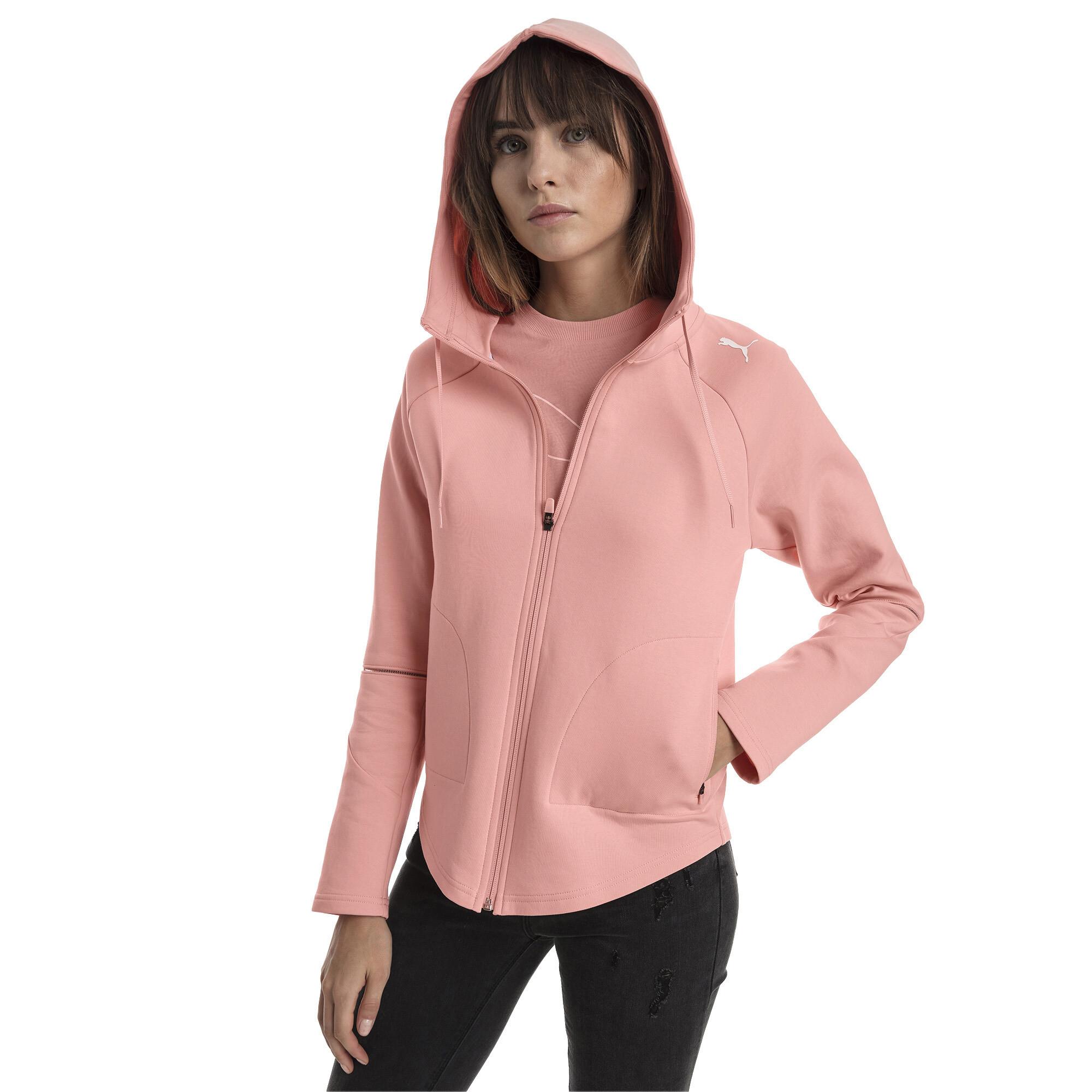 Image Puma Evostripe Move Zip-Up Women's Hoodie #1