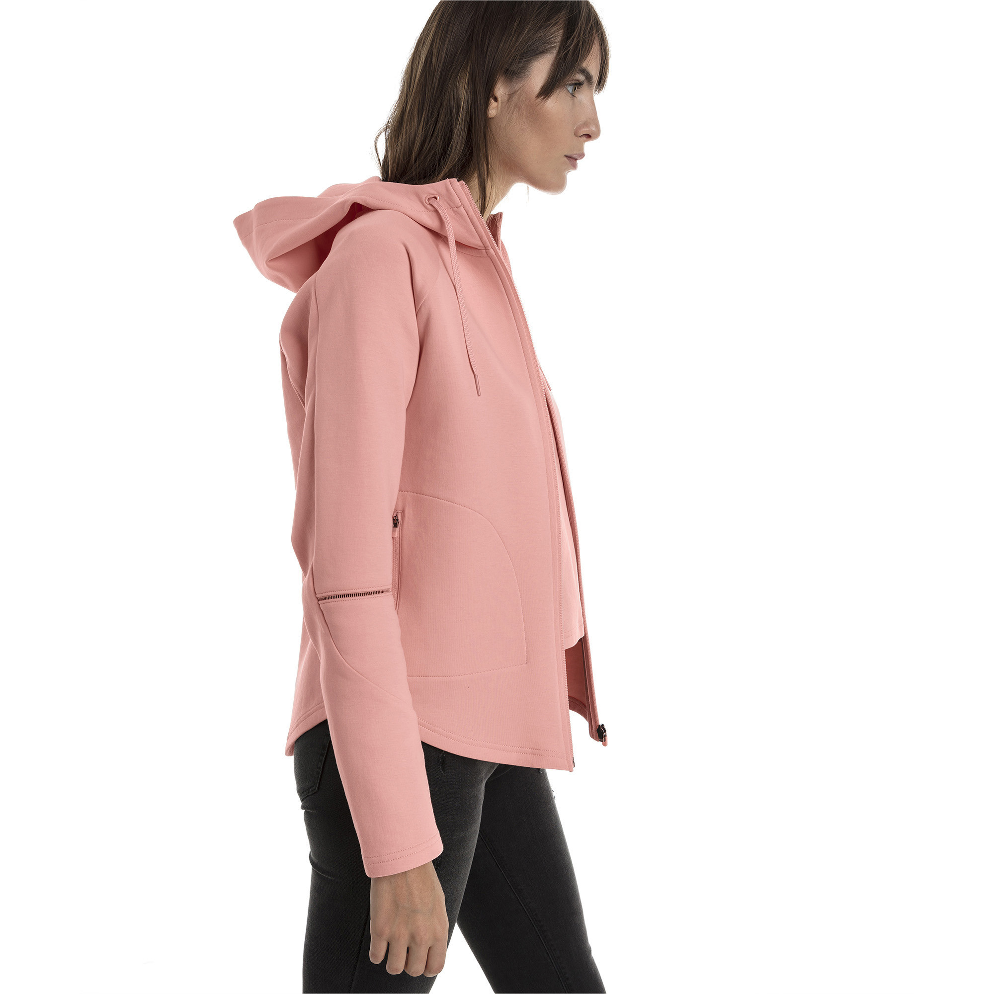 Image Puma Evostripe Move Zip-Up Women's Hoodie #2