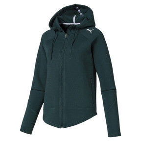 Thumbnail 4 of Evostripe Move Zip-Up Women's Hoodie, Ponderosa Pine, medium