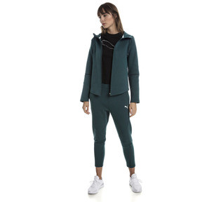 Thumbnail 3 of Evostripe Move Zip-Up Women's Hoodie, Ponderosa Pine, medium