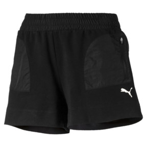 Thumbnail 4 of Evostripe Lite Women's Shorts, Cotton Black, medium