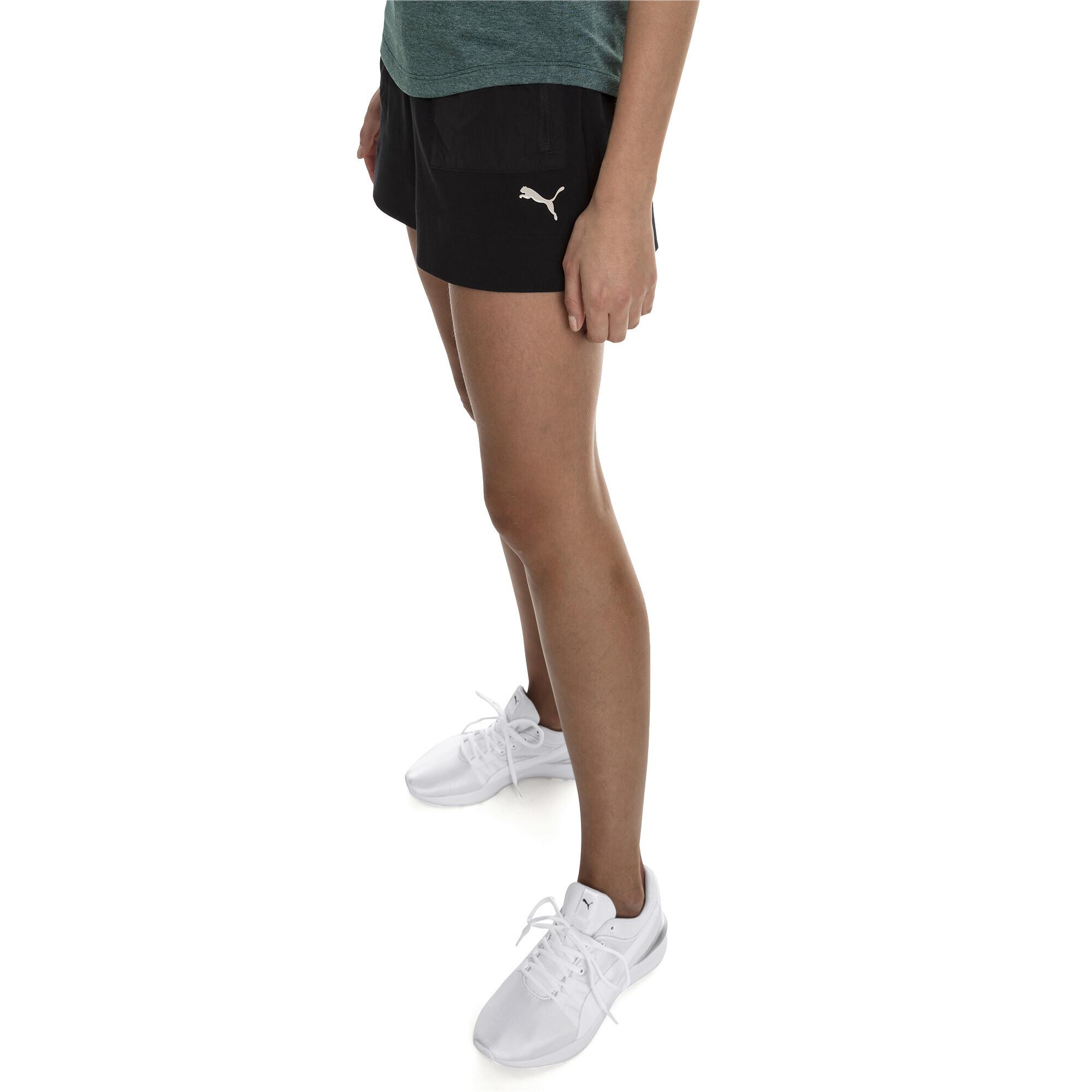 1db714f4212d PUMA Evostripe Lite Women's Shorts Girls Knitted Shorts Basics | eBay