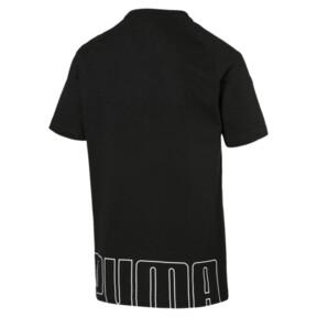 Thumbnail 5 van Modern sportshirt voor mannen, Cotton Black, medium