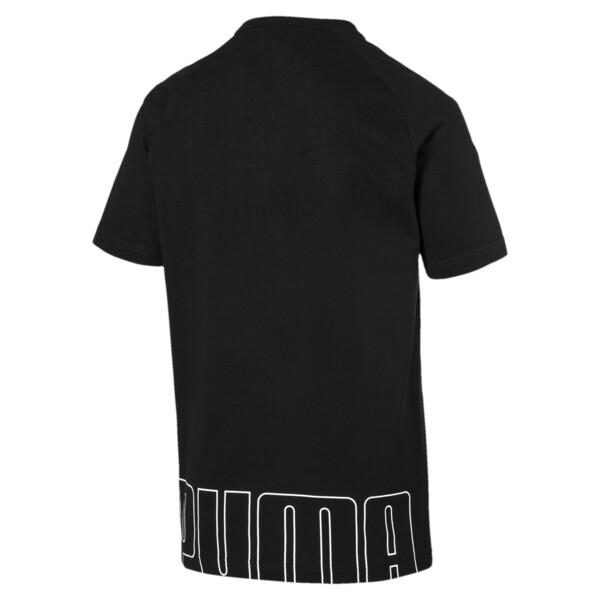 Modern sportshirt voor mannen, Cotton Black, large