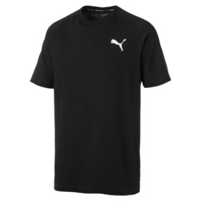 Thumbnail 4 van Modern sportshirt voor mannen, Cotton Black, medium