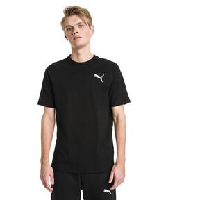 Thumbnail 1 van Modern sportshirt voor mannen, Cotton Black, medium