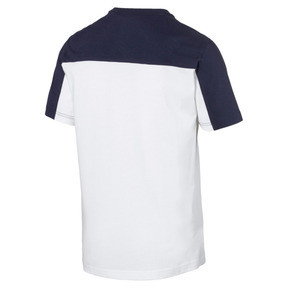 Thumbnail 5 of Modern Sports Advanced Men's Tee, Puma White-Peacoat, medium