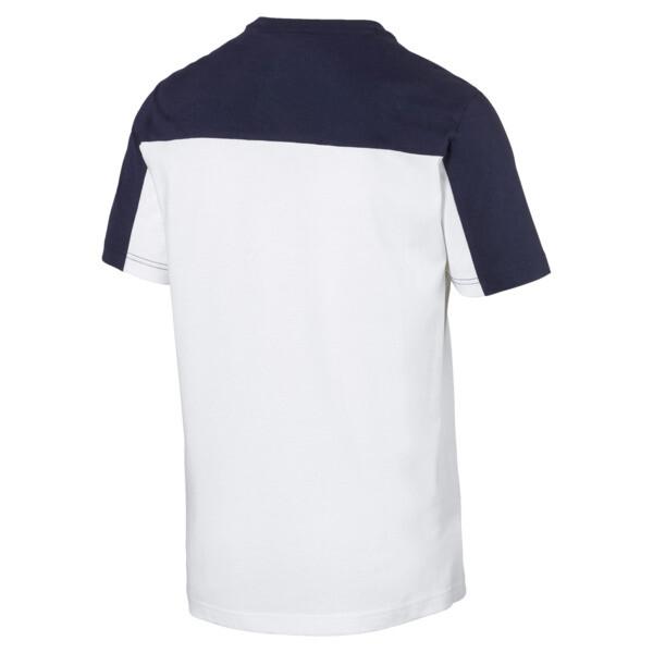 Modern Sports Advanced Herren T-Shirt, Puma White-Peacoat, large