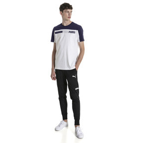 Thumbnail 3 of Modern Sports Advanced Men's Tee, Puma White-Peacoat, medium
