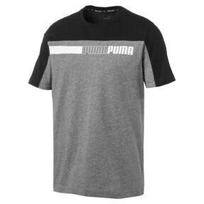 Thumbnail 4 of Modern Sports Advanced Herren T-Shirt, Medium Gray Heather-Black, medium