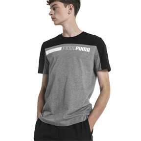 Thumbnail 1 of Modern Sports Advanced Herren T-Shirt, Medium Gray Heather-Black, medium