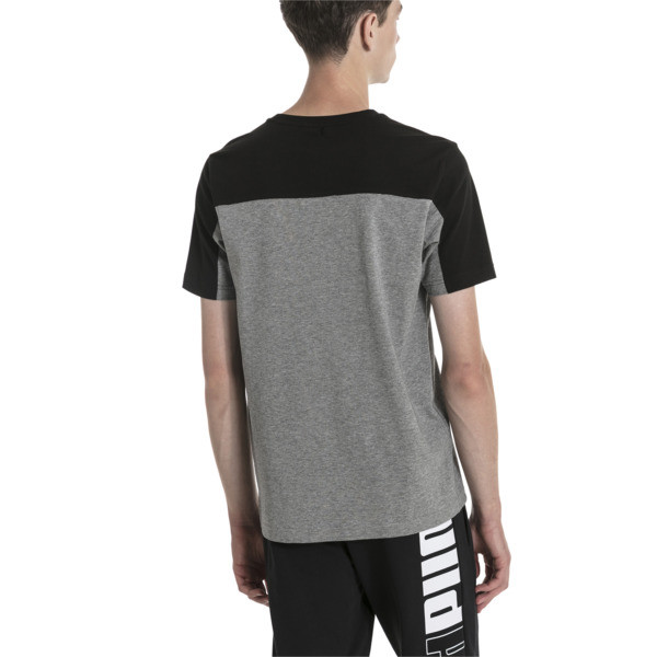 T-Shirt Modern Sports Advanced pour homme, Medium Gray Heather-Black, large