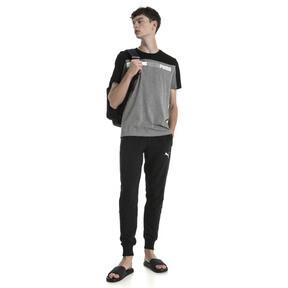 Thumbnail 3 of Modern Sports Advanced Herren T-Shirt, Medium Gray Heather-Black, medium