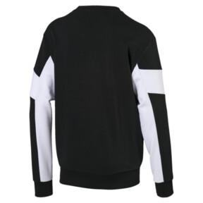 Thumbnail 5 of Rebel Crew Neck Men's Sweater, Cotton Black, medium