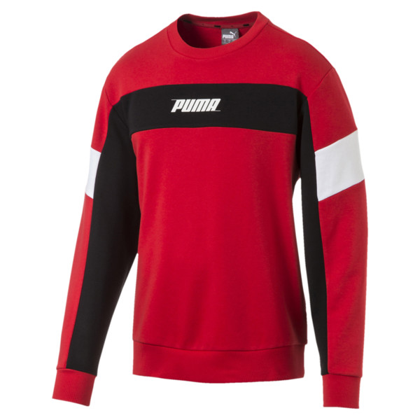 Sweat Rebel pour homme, High Risk Red, large