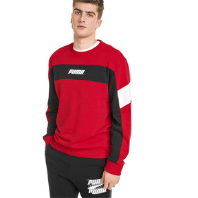 Thumbnail 1 of Rebel Herren Sweatshirt, High Risk Red, medium