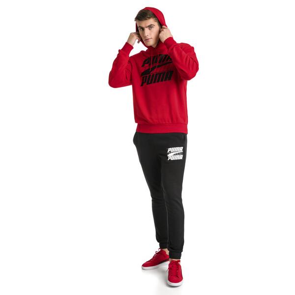 Rebel Men's Hoodie, High Risk Red, large