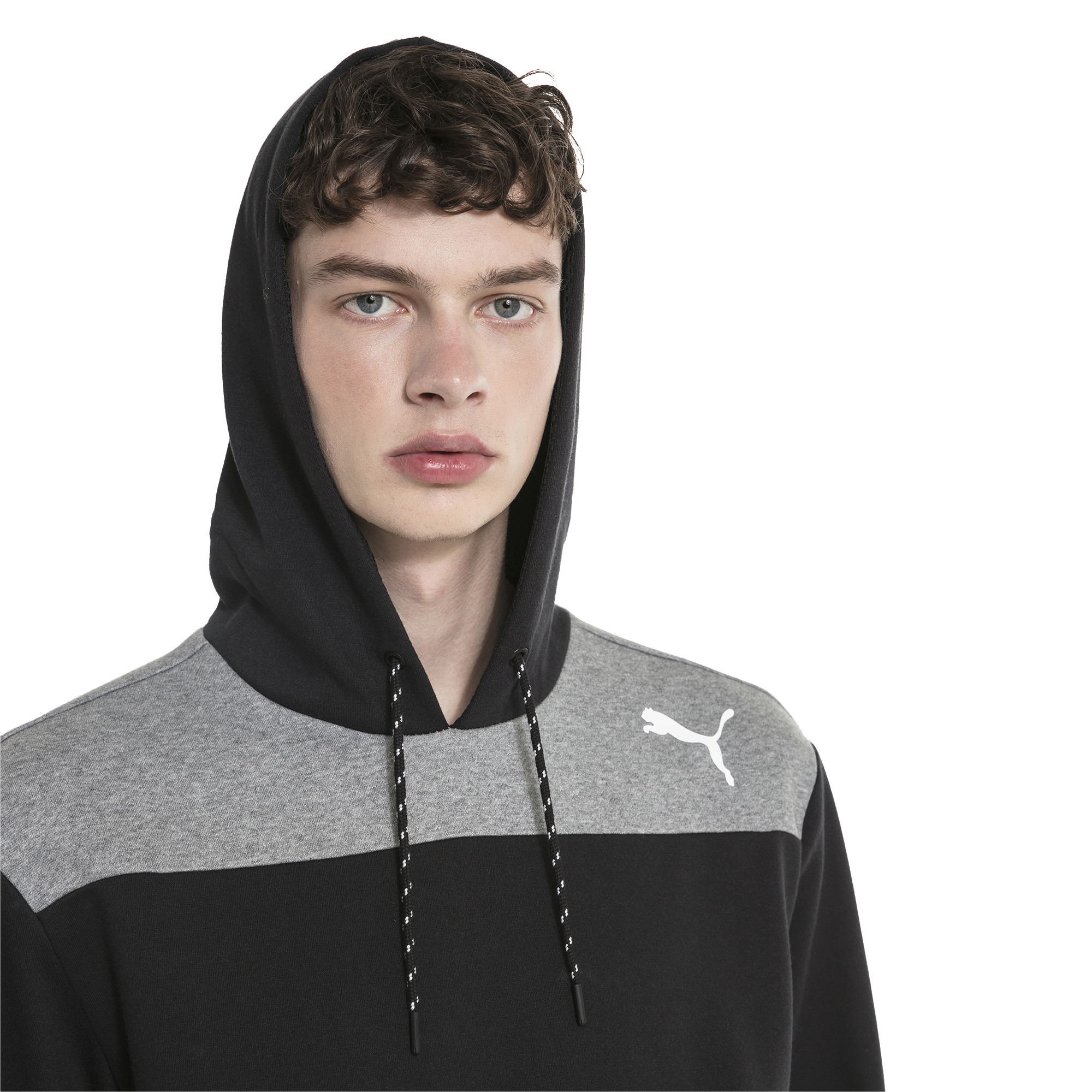 Image Puma Modern Sports Men's Fleece Hoodie #4