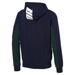 Thumbnail 3 of Rebel Hooded Jacket, Peacoat, medium