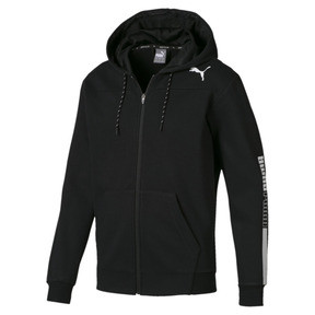 Modern Sports Hooded Fleece Men's Sweat Jacket