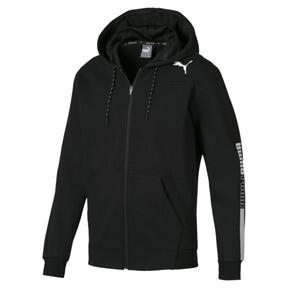 Thumbnail 4 of Modern Sports Hooded Fleece Men's Sweat Jacket, Puma Black, medium
