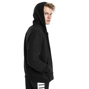 Thumbnail 2 of Modern Sports Hooded Fleece Men's Sweat Jacket, Puma Black, medium