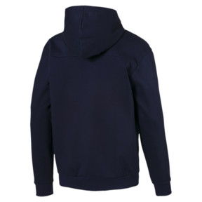 Thumbnail 5 of Modern Sports Hooded Fleece Men's Sweat Jacket, Peacoat, medium
