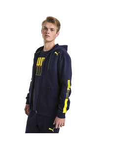 Image Puma Modern Sports Hooded Fleece Men's Sweat Jacket