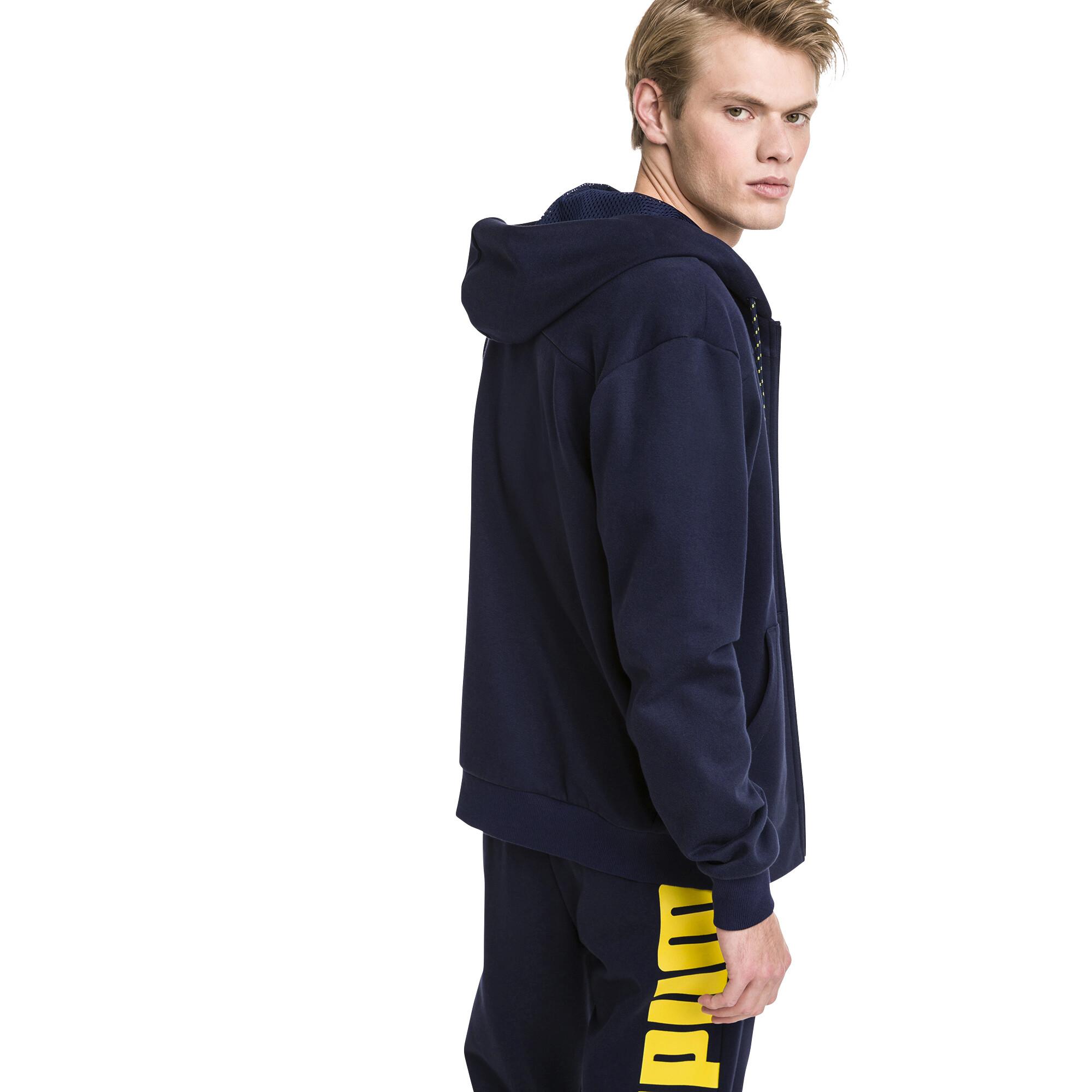 Image Puma Modern Sports Hooded Fleece Men's Sweat Jacket #2