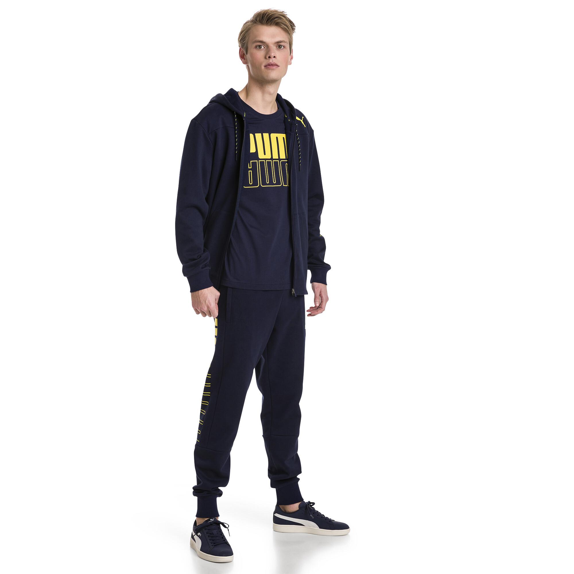 Image Puma Modern Sports Hooded Fleece Men's Sweat Jacket #3