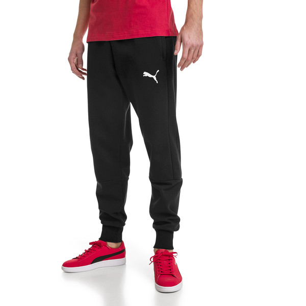 Modern Sports Fleece Men's Pants, Puma Black, large