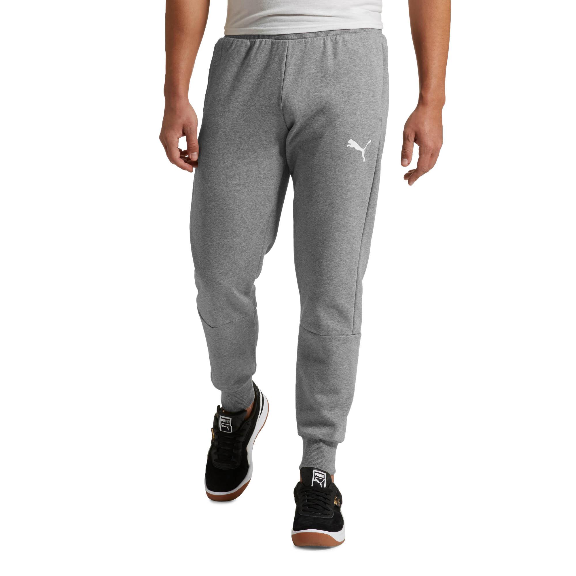 PUMA-Modern-Sports-Fleece-Pants-Men-Knitted-Pants-Basics thumbnail 3