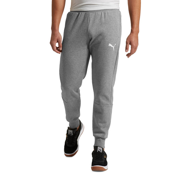 Modern Sports Fleece Pants, Medium Gray Heather, large