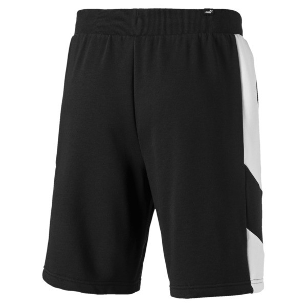 Short Rebel pour homme, Cotton Black, large
