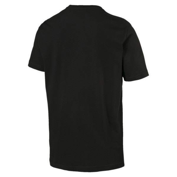 Rebel T-shirt voor mannen, Cotton Black, large