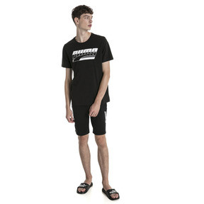 Thumbnail 3 van Rebel T-shirt voor mannen, Cotton Black, medium