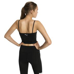 Imagen en miniatura 2 de Top corto sin costuras de mujer evoKNIT, Puma Black, mediana