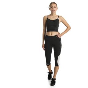 Imagen en miniatura 3 de Top corto sin costuras de mujer evoKNIT, Puma Black, mediana