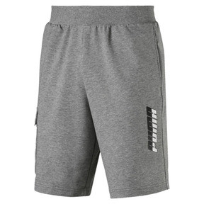 "Thumbnail 1 of Rebel Men's 9"" Shorts, Medium Gray Heather, medium"