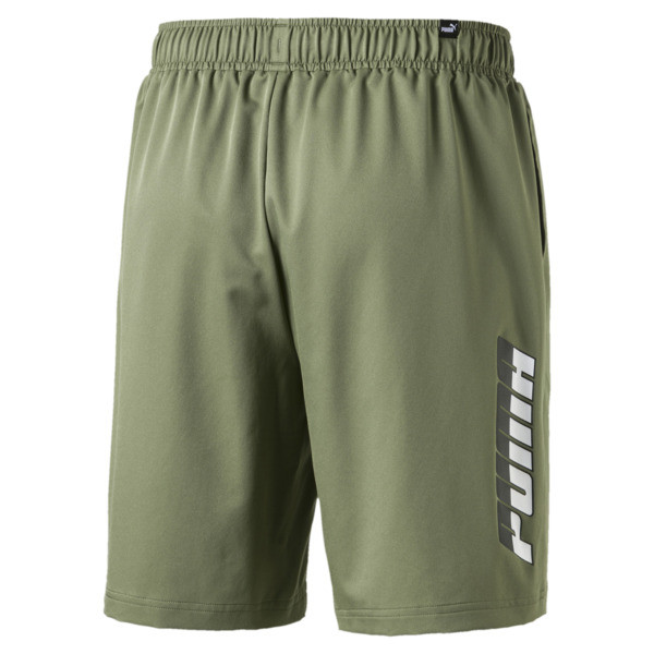 "Rebel Men's 8"" Woven Shorts, Olivine, large"