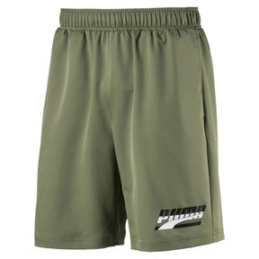 "Thumbnail 1 of Rebel Men's 8"" Woven Shorts, Olivine, medium"