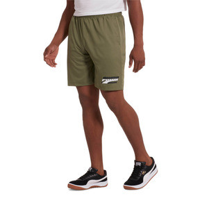 "Thumbnail 2 of Rebel Men's 8"" Woven Shorts, Olivine, medium"