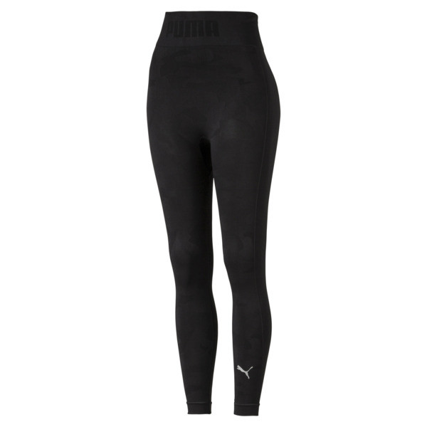 evoKNIT Seamless Women's Leggings, Puma Black, large