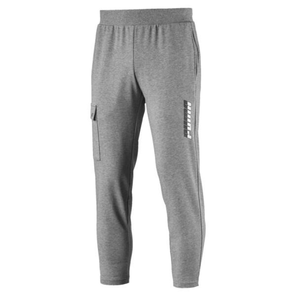 Rebel Men's 7/8 Pants, Medium Gray Heather, large
